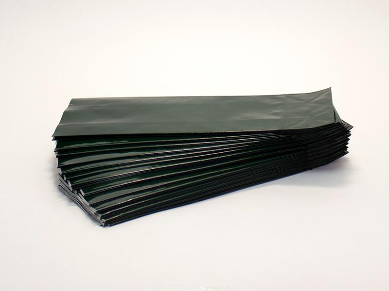 Пакет 100гр. Зелёный двухслойный (10шт)