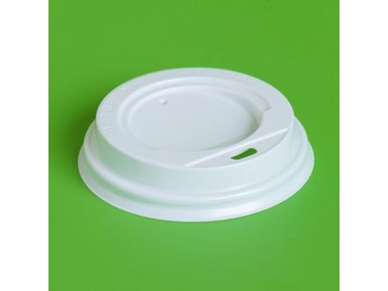 Крышка для горячих напитков 90 мм (белая)