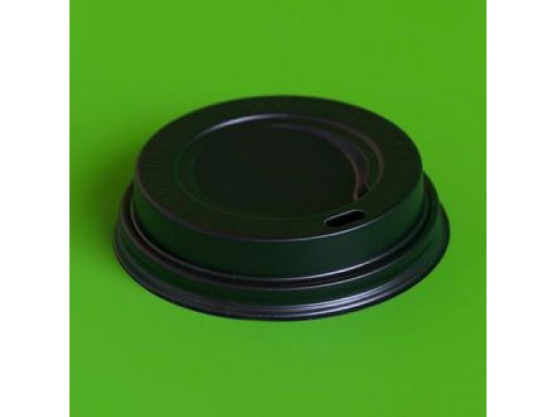 Крышка для горячих напитков 90 мм (черная)