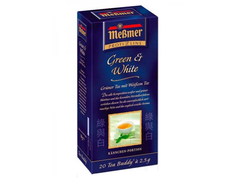 Зеленый и белый чай